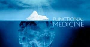 功能醫學用冰山作類比