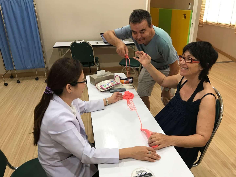 PLS患者接受第三次幹細胞治療
